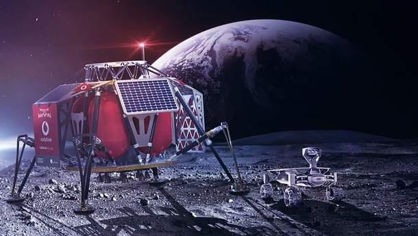 На Луне может появиться сеть 4G