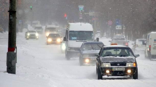 В Киеве ограничат въезд грузовиков из-за непогоды