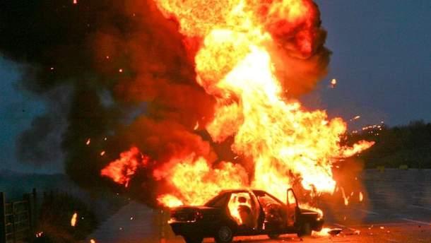 В Донецке взорвался автомобиль (иллюстрация)