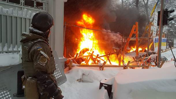 У МВС повідомили про 7 постраждалих поліцейських у сутичках під Радою
