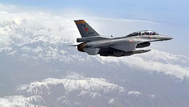 Турецькі літаки завдали авіаудар по проурядових сирійських силах
