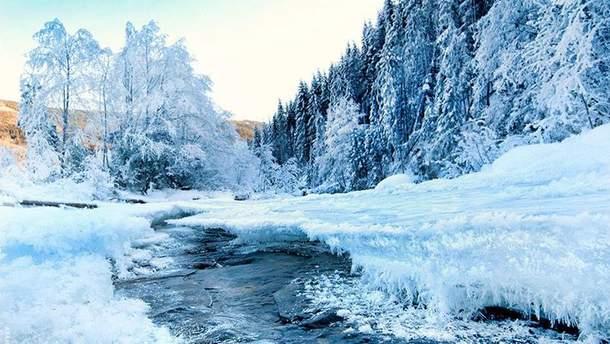 Зима в Карпатах: сказочные фото гор