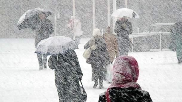 В Україні знову погіршиться погода