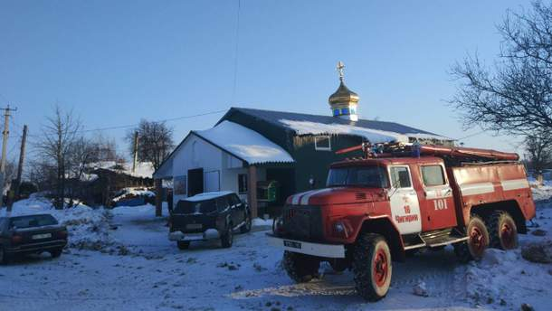 В Чигирине во время пожара в монастыре погибла служительница