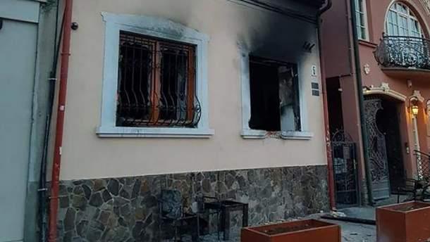 Вследствие повторного нападения центр культуры венгров серьезно пострадал