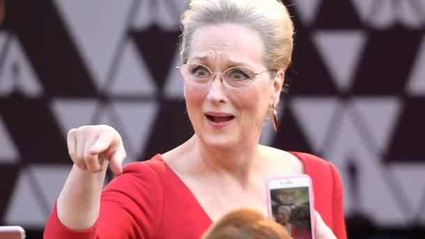 """Меріл Стріп на """"Оскарі 2018"""""""