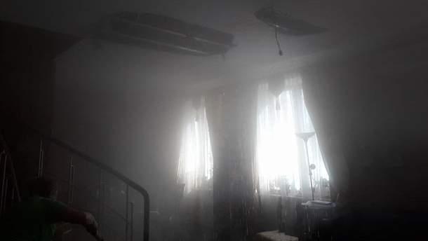 Квартиру письменника Андрія куркова залило окропом у центрі Києва