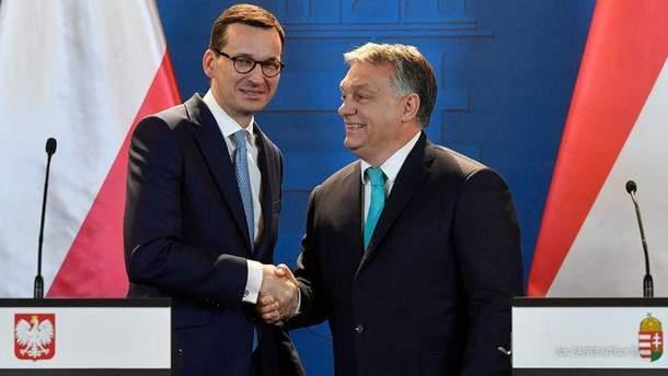 Угорщина підтримуватиме Польщу у протистоянні з ЄС