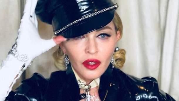 "Мадонна на церемонии вручения кинонаграды ""Оскар"""