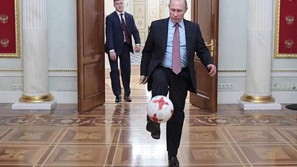 Путін знявся у промо-ролику до Чемпіонату світу 2018 року