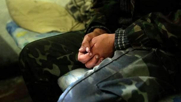 В штабе рассказали детали задержания российского боевика на Донбассе