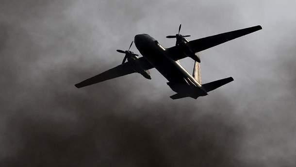 Падіння літака Ан-26 у Сирії