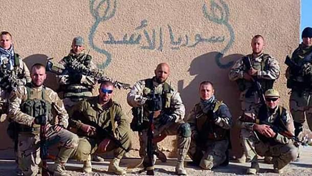 """Военные ЧВК """"Вагнера"""" в Сирии"""
