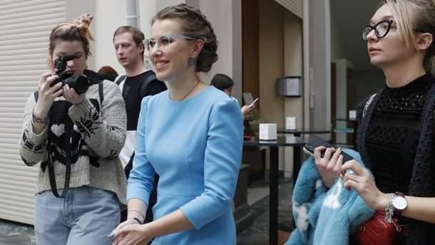 Собчак можуть впустити в окупований Крим