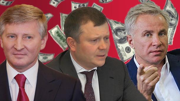 Украинские миллиардеры в рейтинге Forbes