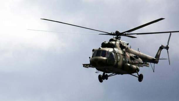 Вертолет Ми-8 (иллюстрация)