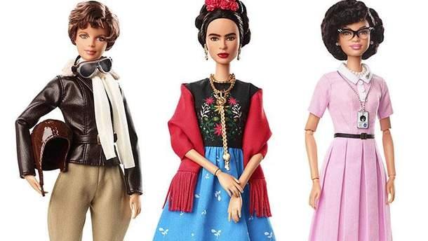 Барби посвятили известным женщинам
