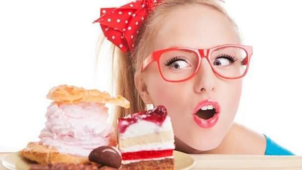 Солодощі при дієті