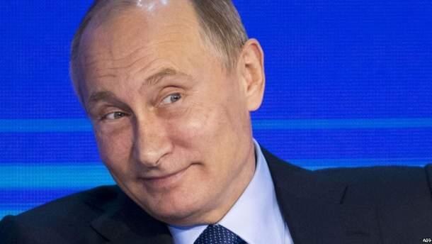На передвиборчу кампанію Путіна вже витратили понад 347 млн рублів