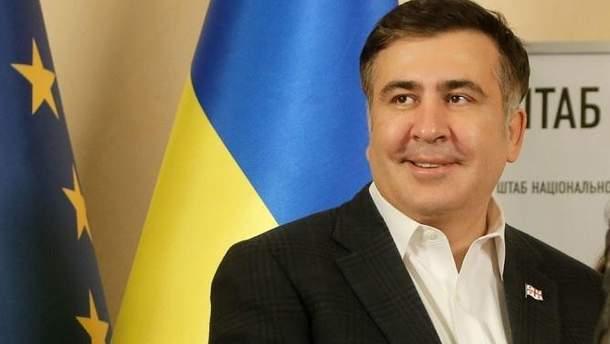 Саакашвили планирует скорое возвращение в Украину