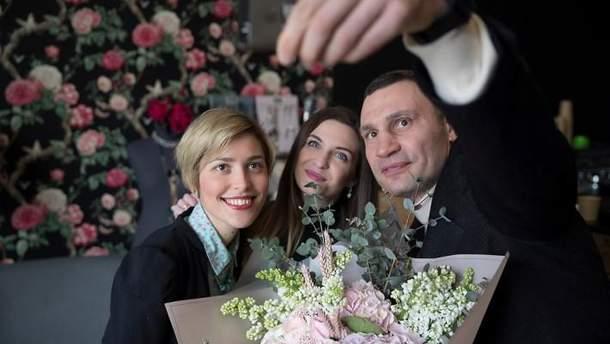 Віталій Кличко привітав жінок з 8 березня