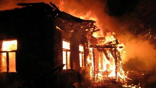 Мужчина сгорел заживо на Днепропетровщине