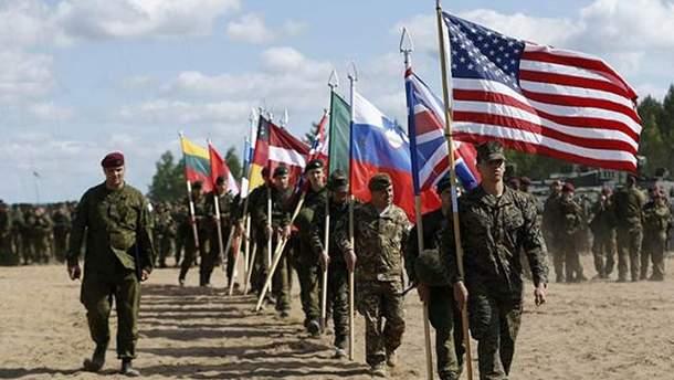 Військові навчання НАТО Trident Juncture