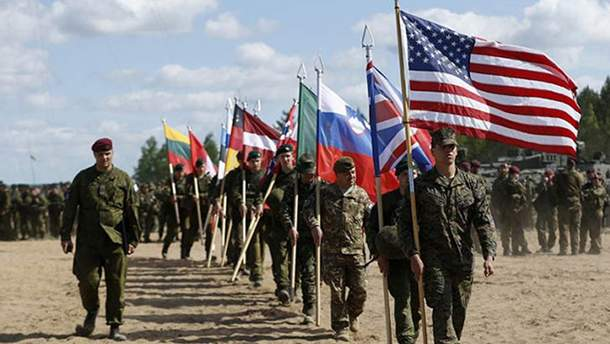 Военные учения НАТО Trident Juncture