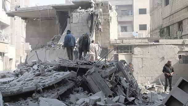 Війська Асада захопили більше половини території Східної Гути