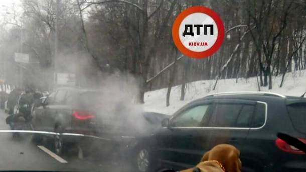 У Києві сталась масштабна ДТП