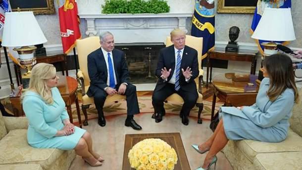 Курьезная встреча Мелании Трамп с израильской делегацией