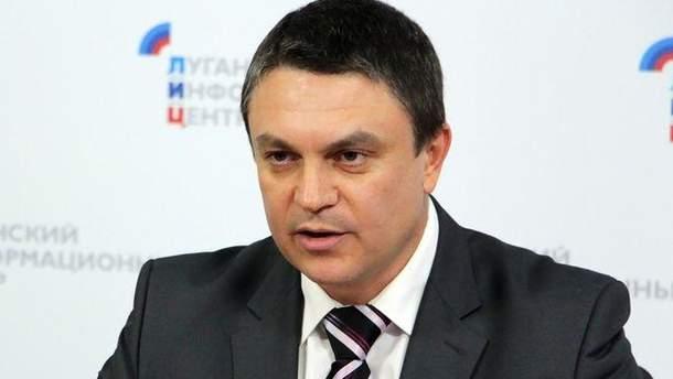"""Главарь """"ЛНР"""" Леонид Пасечник"""