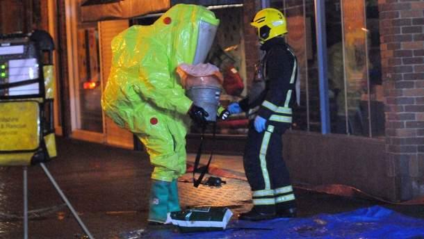 Британська поліція на місці отруєння Сергія Скрипаля