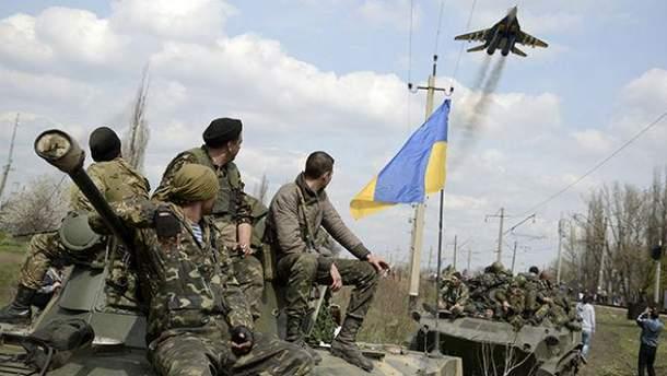 Боевики испугались украинской авиации