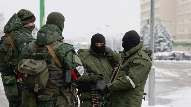 Російські окупанти на Донбасі