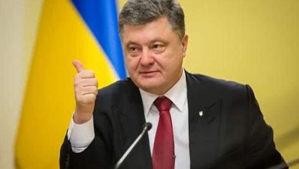 Порошенко пообещал десятилетнюю программу для укрепления статуса украинского языка
