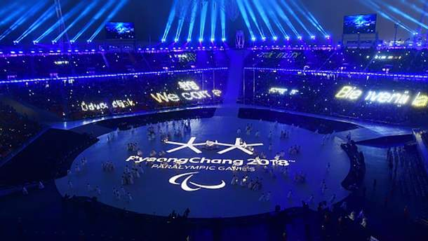 Церемония открытия Паралимпиады-2018