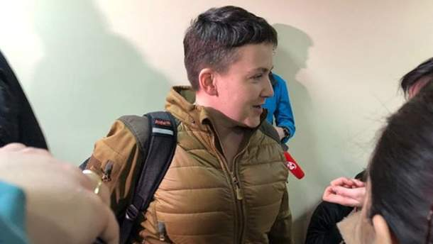 Савченко оконфузилася у суді щодо справи Рубана