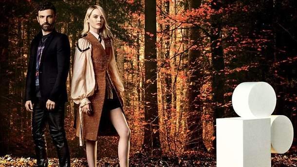 Эмма Стоун и Николя Гескьер для W Magazine