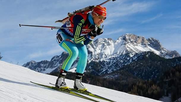 Біатлон: Юлія Джима фінішувала на 4 місці в Контіолахті