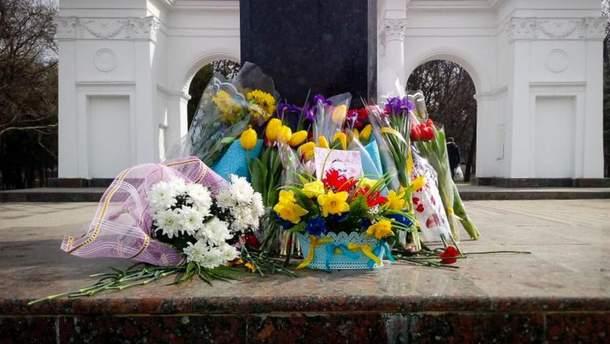 В аннексированном  Крыму почтили память Шевченко