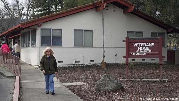 Нападение на дом ветеранов в Калифорнии