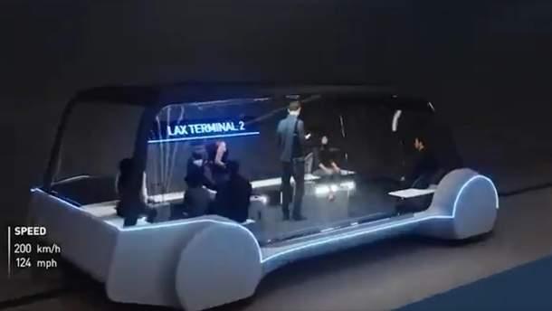 Ілон Маск показав електробуси для тунелей під містами: вражаюче відео