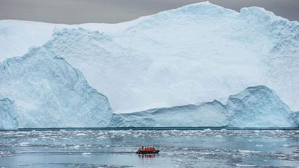 Дивовижні айсберги в Антарктиці