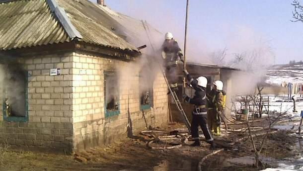 В пожежі загинуло троє маленьких дітей