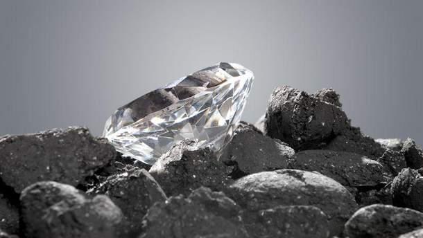 Алмаз со льдом внутри