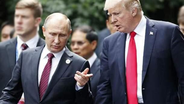 У Путіна може бути якийсь компромат на Трампа
