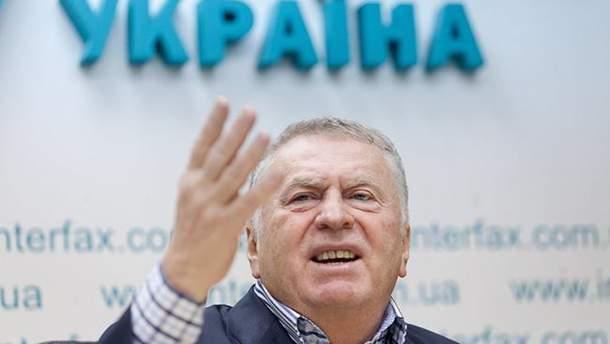 Владимир Жириновский не впервые угрожает Украине