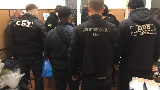 Задержание следователя в Одессе