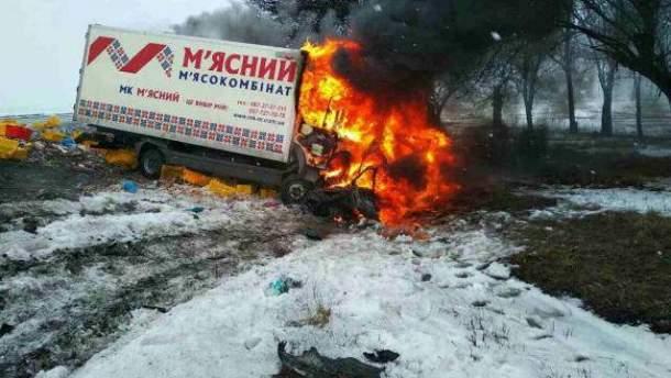 Жахлива аварія на Дніпропетровщині